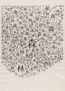 Ryuichi Yamashiro. Miškas. 1954