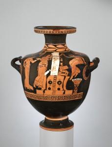 Normalaus dydžio hidrija. IV a. pr. Kr.