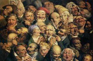 Louis Léopold Boilly. 35 galvų grupė. 1825. Dailės muziejus, Turkuenas, Prancūzija