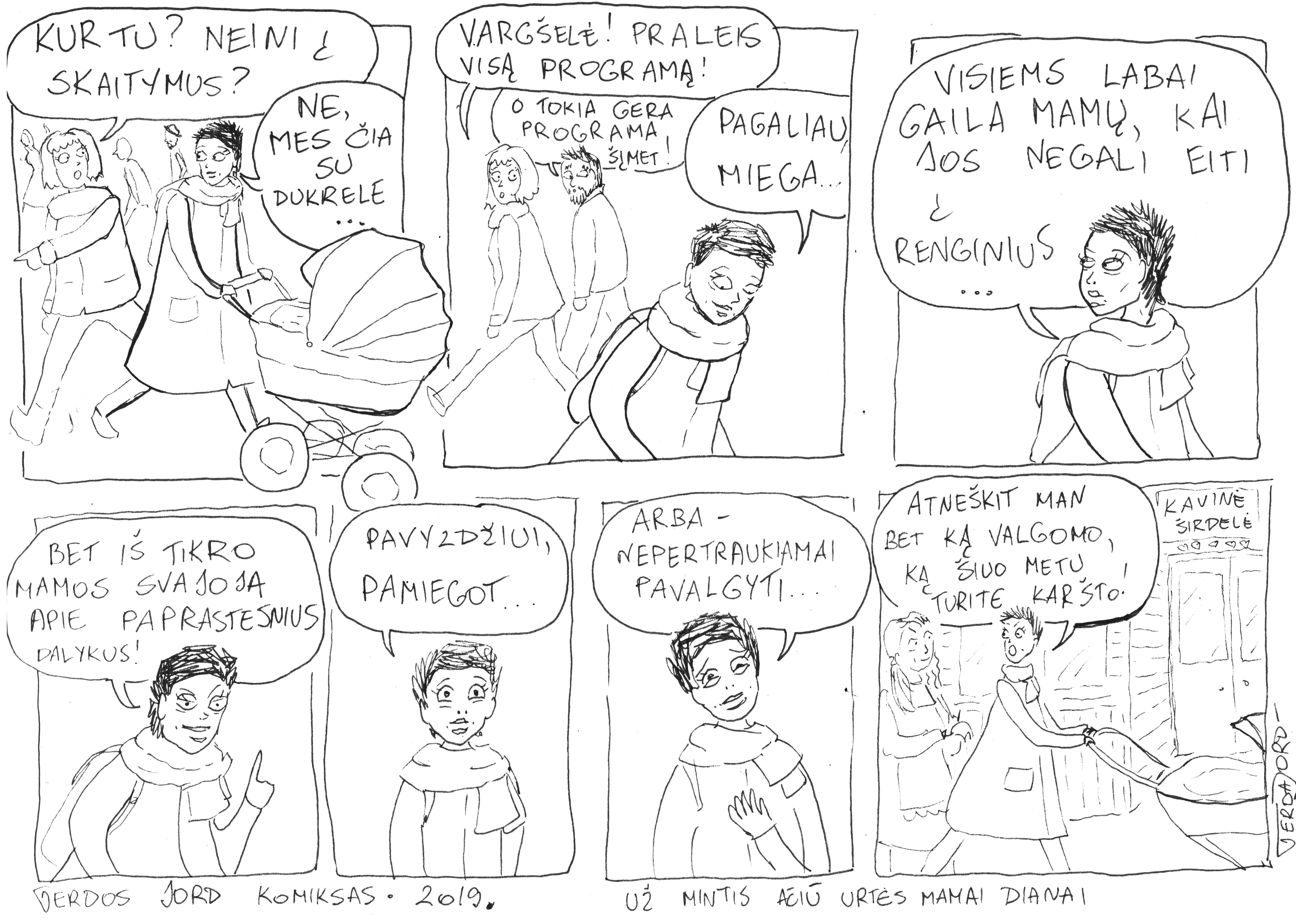 Gerdos Jord komiksas