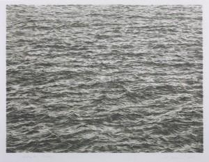 Vija Celmins. Vandenynas. 1975