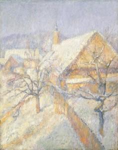 Rihard Jakopič. Žiema. 1904