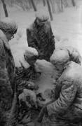 Šachmatai sniege. Maskva. 1950