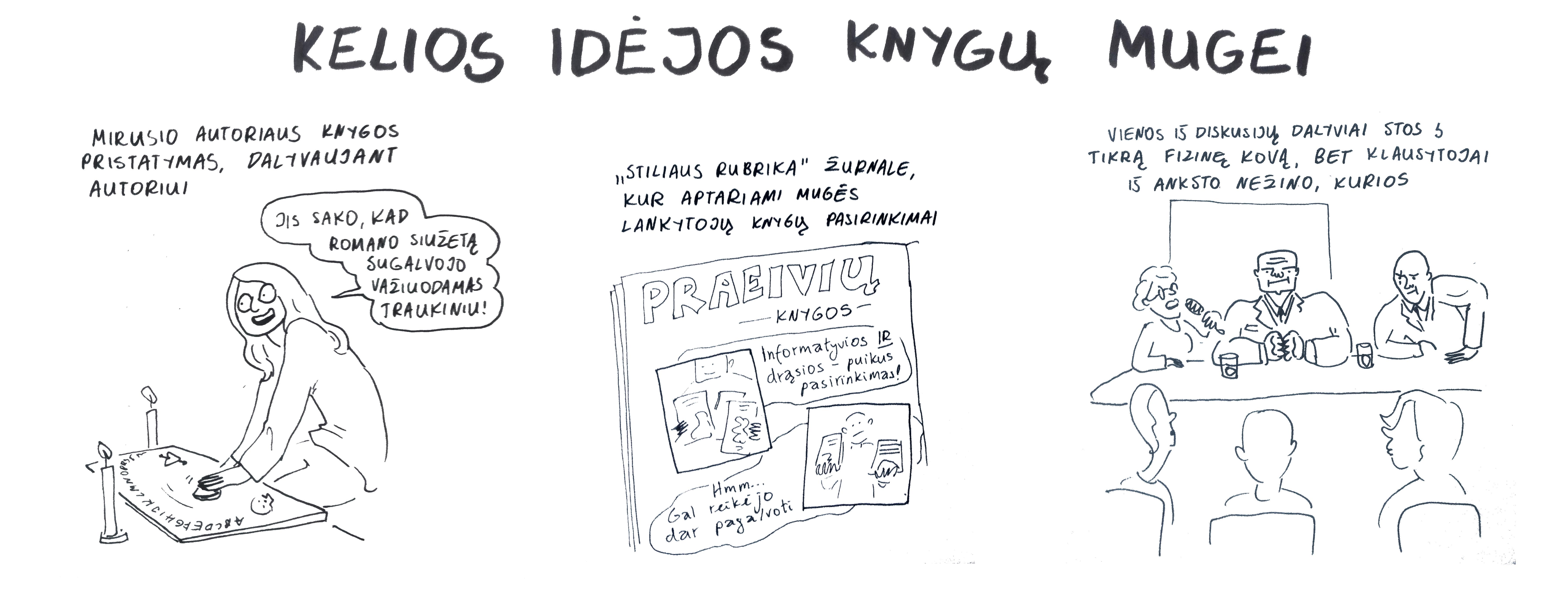 Miglės Anušauskaitės komiksas