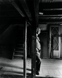 Arnold Newman. Otto Frankas, Annės Frank tėvas. Amsterdamas. 1960