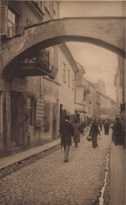 Senasis Vilnius, Žydų kvartalo gatvelė. 1941. VVGŽM nuotrauka