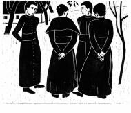 Verner Berg. Keturi teologai. 1949