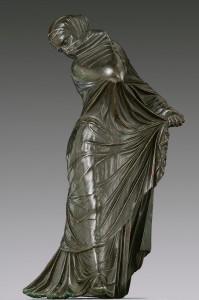 Bronzinė statulėlė. III–II a. pr Kr. Iš: www.metmuseum.org