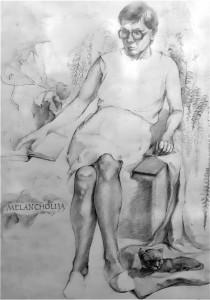 Kostas Poškus. Melancholija. 1984