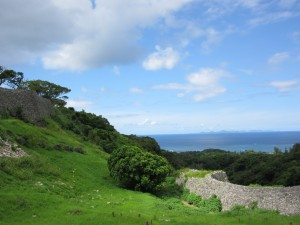 Kunigamio regione esanti į UNESCO Pasaulio paveldo sąrašą įrašyta Nakidžino pilis. Tiksliau, kas iš jos liko. Iki XV a. (nesuvienytos Riūkiū karalystės laikais) iš šios pilies buvo valdoma Hokuzano kunigaikštystė