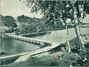 Tiltas per Asveją. Tarpukaris