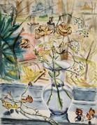 Paraskeva Clark. Lapkričio rožės. 1953