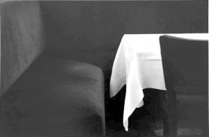 Bernard Plossu. Staltiesė. 1973
