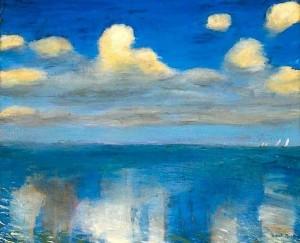 Emil Nolde. Rami jūra. 1936