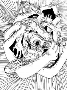 Naglio Granicko piešinys