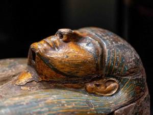 """Parodos """"Ką sleipia sarkofagas"""" eksponatas Lietuvos Nacionalinio muziejaus nuotrauka"""