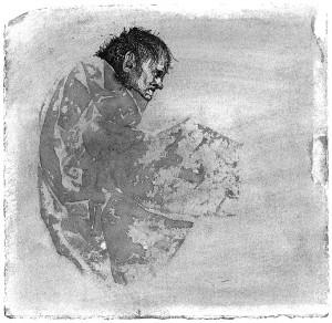 Urtės Bimbaitės piešinys