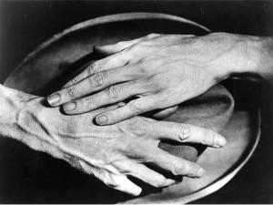 Berenice Abbott. Jeano Cocteau rankos. 1927