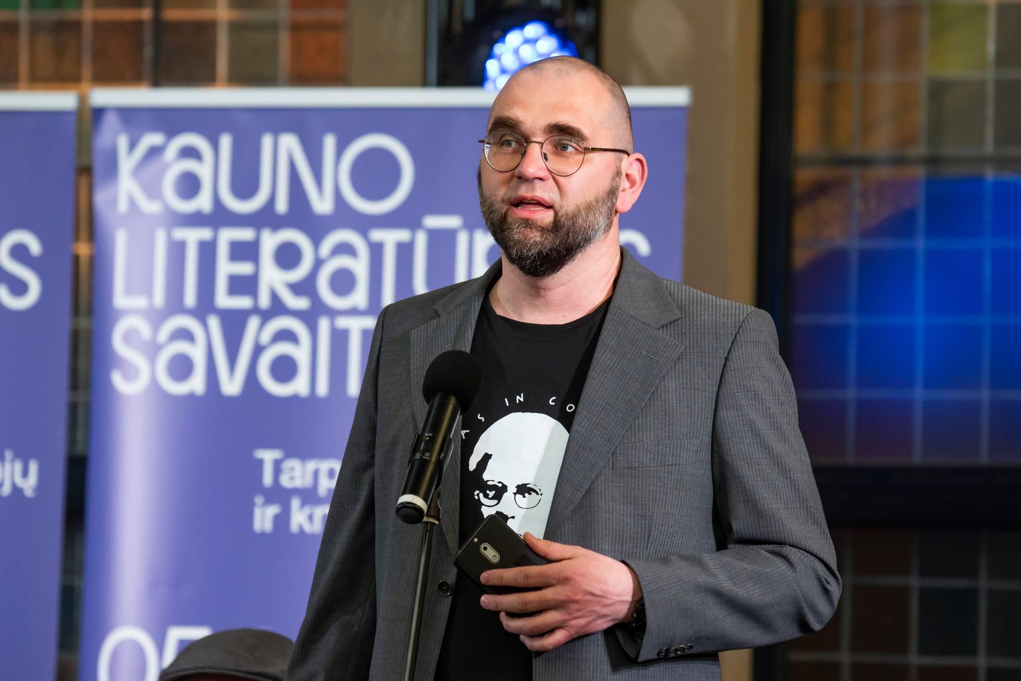 Laurynas Katkus Jono Petronio nuotrauka