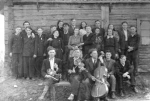 Krikštonys. 1950