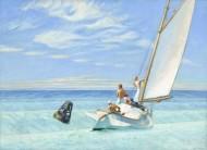 Edward Hopper. Jūros bangavimas. 1939